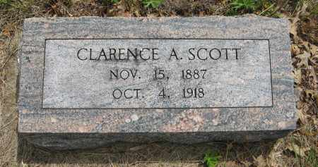 SCOTT, CLARENCE A. - Dodge County, Nebraska | CLARENCE A. SCOTT - Nebraska Gravestone Photos