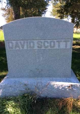 SCOTT, DAVID - Dodge County, Nebraska | DAVID SCOTT - Nebraska Gravestone Photos
