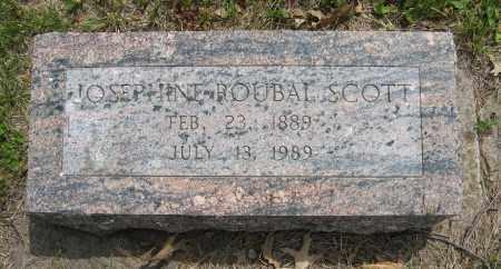 ROUBAL SCOTT, JOSEPHINE - Dodge County, Nebraska | JOSEPHINE ROUBAL SCOTT - Nebraska Gravestone Photos