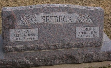SEEBECK, ELMER L. - Dodge County, Nebraska | ELMER L. SEEBECK - Nebraska Gravestone Photos