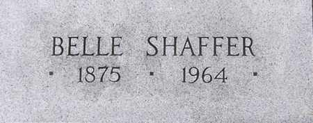 SHAFFER, BELLE - Dodge County, Nebraska | BELLE SHAFFER - Nebraska Gravestone Photos