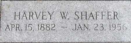 SHAFFER, HARVEY - Dodge County, Nebraska | HARVEY SHAFFER - Nebraska Gravestone Photos