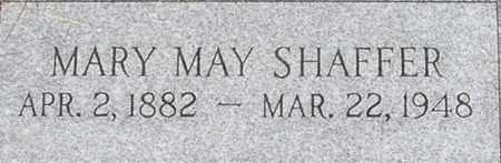 SHAFFER, MARY MAY - Dodge County, Nebraska   MARY MAY SHAFFER - Nebraska Gravestone Photos