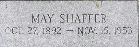 SHAFFER, MAY - Dodge County, Nebraska | MAY SHAFFER - Nebraska Gravestone Photos