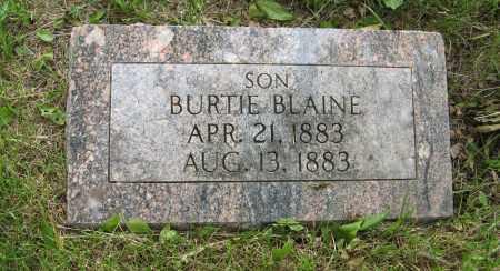 SHIPLEY, BURTIE BLAINE - Dodge County, Nebraska | BURTIE BLAINE SHIPLEY - Nebraska Gravestone Photos