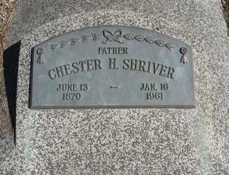 SHRIVER, CHESTER H. - Dodge County, Nebraska | CHESTER H. SHRIVER - Nebraska Gravestone Photos