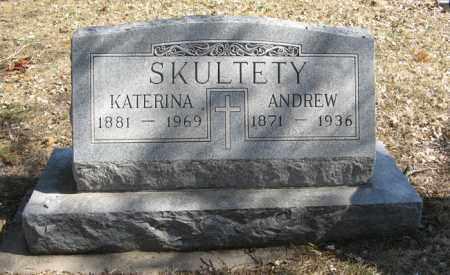 SKULTETY, ANDREW - Dodge County, Nebraska | ANDREW SKULTETY - Nebraska Gravestone Photos