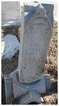 SLACK, CLAIR W. - Dodge County, Nebraska   CLAIR W. SLACK - Nebraska Gravestone Photos