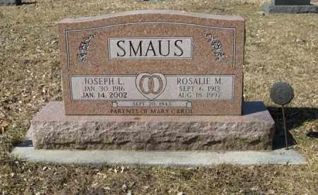 SMAUS, JOSEPH L. - Dodge County, Nebraska | JOSEPH L. SMAUS - Nebraska Gravestone Photos