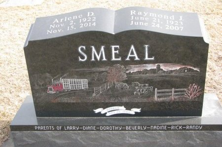 SMEAL, ARLENE DOROTHY - Dodge County, Nebraska | ARLENE DOROTHY SMEAL - Nebraska Gravestone Photos