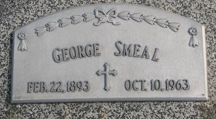 SMEAL, GEORGE - Dodge County, Nebraska | GEORGE SMEAL - Nebraska Gravestone Photos