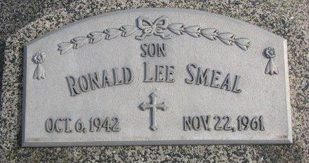 SMEAL, RONALD LEE - Dodge County, Nebraska   RONALD LEE SMEAL - Nebraska Gravestone Photos