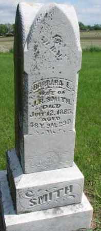 SMITH, BARBARA E. - Dodge County, Nebraska | BARBARA E. SMITH - Nebraska Gravestone Photos