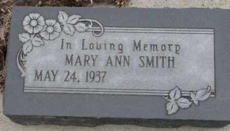 SMITH, MARY ANN - Dodge County, Nebraska   MARY ANN SMITH - Nebraska Gravestone Photos