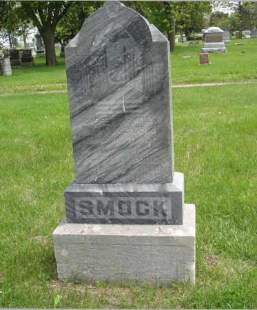 SMOCK, GARRETT - Dodge County, Nebraska | GARRETT SMOCK - Nebraska Gravestone Photos