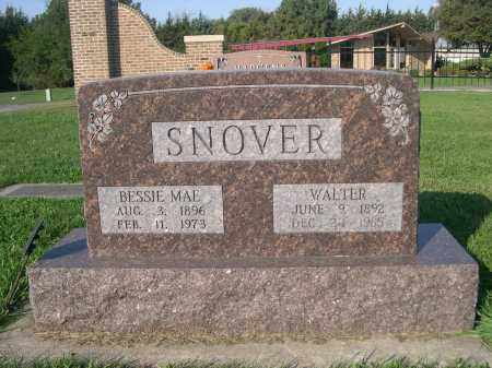 SNOVER, BESSIE MAE - Dodge County, Nebraska | BESSIE MAE SNOVER - Nebraska Gravestone Photos