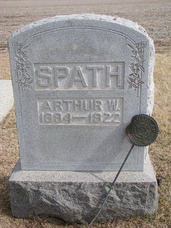 SPATH, ARTHUR W. #1 - Dodge County, Nebraska | ARTHUR W. #1 SPATH - Nebraska Gravestone Photos