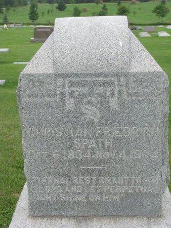 SPATH, CHRISTIAN - Dodge County, Nebraska   CHRISTIAN SPATH - Nebraska Gravestone Photos
