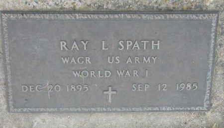 SPATH, RAY L. (MILITARY) - Dodge County, Nebraska | RAY L. (MILITARY) SPATH - Nebraska Gravestone Photos