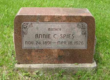 SPIES, ANNIE C. - Dodge County, Nebraska   ANNIE C. SPIES - Nebraska Gravestone Photos