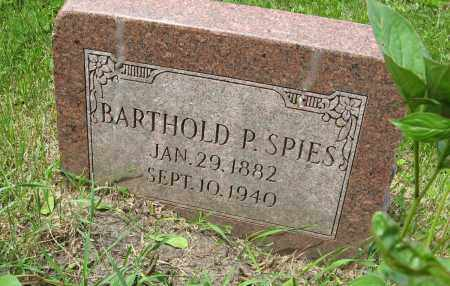 SPIES, BARTHOLD P. - Dodge County, Nebraska | BARTHOLD P. SPIES - Nebraska Gravestone Photos