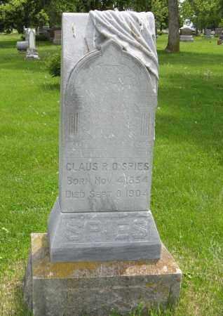 SPIES, CLAUS R. O. - Dodge County, Nebraska | CLAUS R. O. SPIES - Nebraska Gravestone Photos