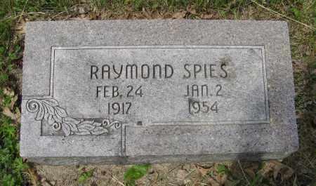 SPIES, RAYMOND - Dodge County, Nebraska | RAYMOND SPIES - Nebraska Gravestone Photos