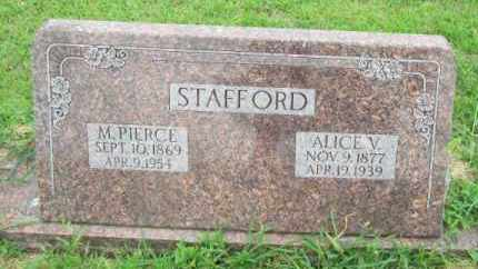 STAFFORD, M PIERCE - Dodge County, Nebraska | M PIERCE STAFFORD - Nebraska Gravestone Photos