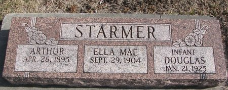 STARMER, DOUGLAS - Dodge County, Nebraska | DOUGLAS STARMER - Nebraska Gravestone Photos