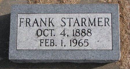 STARMER, FRANK - Dodge County, Nebraska | FRANK STARMER - Nebraska Gravestone Photos
