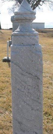 STARMER, INFANT DAUGHTER 1897 - Dodge County, Nebraska | INFANT DAUGHTER 1897 STARMER - Nebraska Gravestone Photos