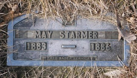 STARMER, ROSEE MAY - Dodge County, Nebraska | ROSEE MAY STARMER - Nebraska Gravestone Photos