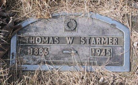 STARMER, THOMAS W. - Dodge County, Nebraska | THOMAS W. STARMER - Nebraska Gravestone Photos