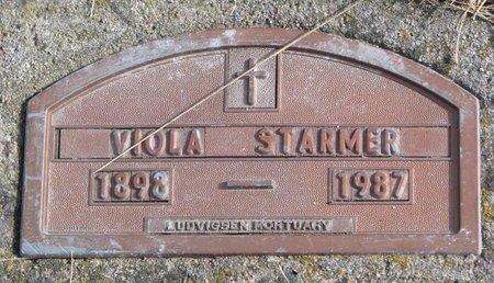 STARMER, VIOLA - Dodge County, Nebraska | VIOLA STARMER - Nebraska Gravestone Photos