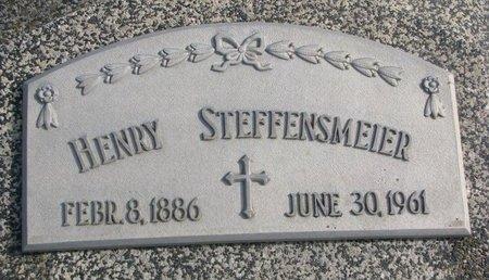 STEFFENSMEIER, HENRY - Dodge County, Nebraska | HENRY STEFFENSMEIER - Nebraska Gravestone Photos