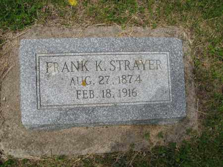 STRAYER, FRANK K. - Dodge County, Nebraska | FRANK K. STRAYER - Nebraska Gravestone Photos