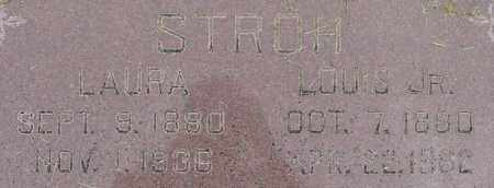 STROH, LAURA - Dodge County, Nebraska | LAURA STROH - Nebraska Gravestone Photos
