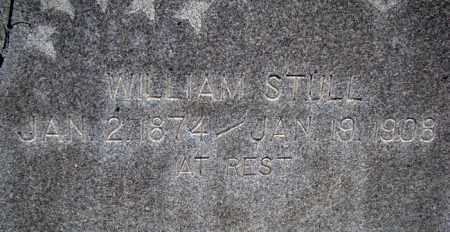 STULL, WILLIAM - Dodge County, Nebraska | WILLIAM STULL - Nebraska Gravestone Photos