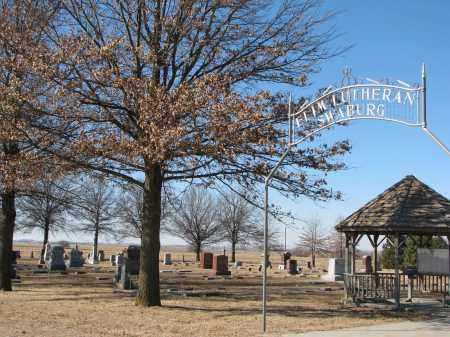 *SWABURG, ENTRANCE & GPS - Dodge County, Nebraska | ENTRANCE & GPS *SWABURG - Nebraska Gravestone Photos