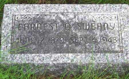 SWEANY, EARNEST OSCAR - Dodge County, Nebraska | EARNEST OSCAR SWEANY - Nebraska Gravestone Photos