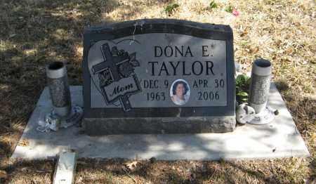 TAYLOR, DONA E. - Dodge County, Nebraska | DONA E. TAYLOR - Nebraska Gravestone Photos