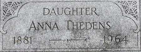 THEDENS, ANNA - Dodge County, Nebraska | ANNA THEDENS - Nebraska Gravestone Photos