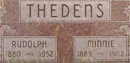 THEDENS, RUDOLPH - Dodge County, Nebraska   RUDOLPH THEDENS - Nebraska Gravestone Photos