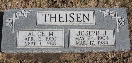 THEISEN, JOSEPH J. - Dodge County, Nebraska   JOSEPH J. THEISEN - Nebraska Gravestone Photos