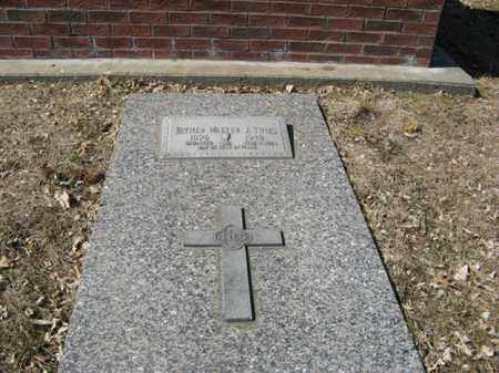 THIES, WALTER J. - Dodge County, Nebraska   WALTER J. THIES - Nebraska Gravestone Photos