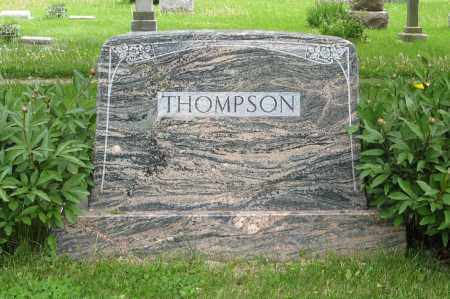 THOMPSON, (FAMILY MONUMENT) - Dodge County, Nebraska | (FAMILY MONUMENT) THOMPSON - Nebraska Gravestone Photos