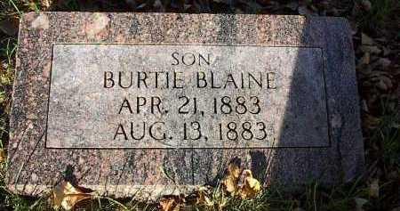 THOMPSON, BURTIE BLAINE - Dodge County, Nebraska   BURTIE BLAINE THOMPSON - Nebraska Gravestone Photos