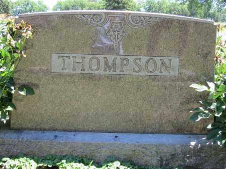 THOMPSON, (FAMILY MONUMENT) - Dodge County, Nebraska | (FAMILY MONUMENT) THOMPSON - Nebraska Gravestone Photos