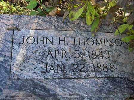 THOMPSON, JOHN HENRY - Dodge County, Nebraska | JOHN HENRY THOMPSON - Nebraska Gravestone Photos