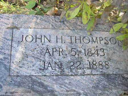 THOMPSON, JOHN HENRY - Dodge County, Nebraska | JOHN HENRY THOMPSON - Nebraska Gravestone Photos